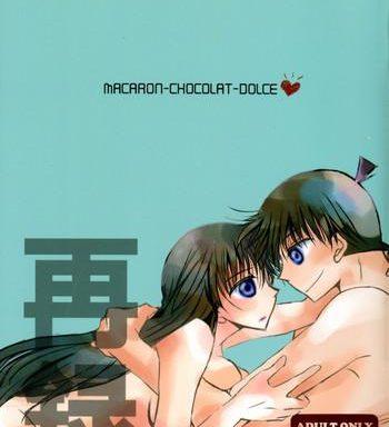 spark11 t k h k hayami aya macaron chocolat dolce detective conan cover